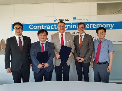 Distributor Partnership Contract with mt materials ag